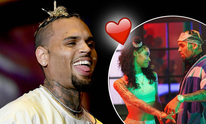 Chris Brown reportedly dating famous Instagram model, Indya Marie (Photos)
