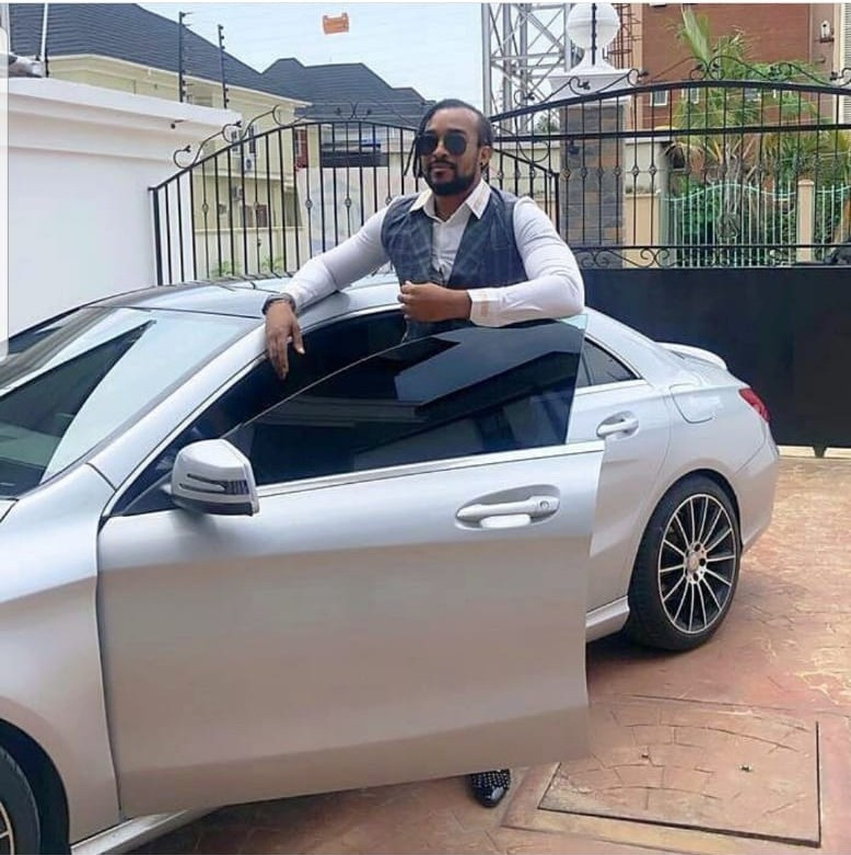 """""""I came in 40 seconds""""- Bryan Okwara makes a joke out of the drama between Tonto Dikeh and her ex-husband"""