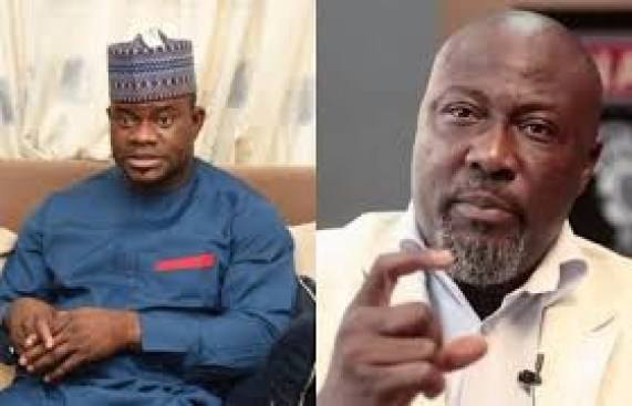 Governor Yahaya Bello condoles with Dino Melaye over his mum?s death