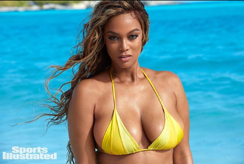 Tyra Banks, 45, delivers powerful message as she sizzles on the cover of Sports Illustrated Swimsuit Issue
