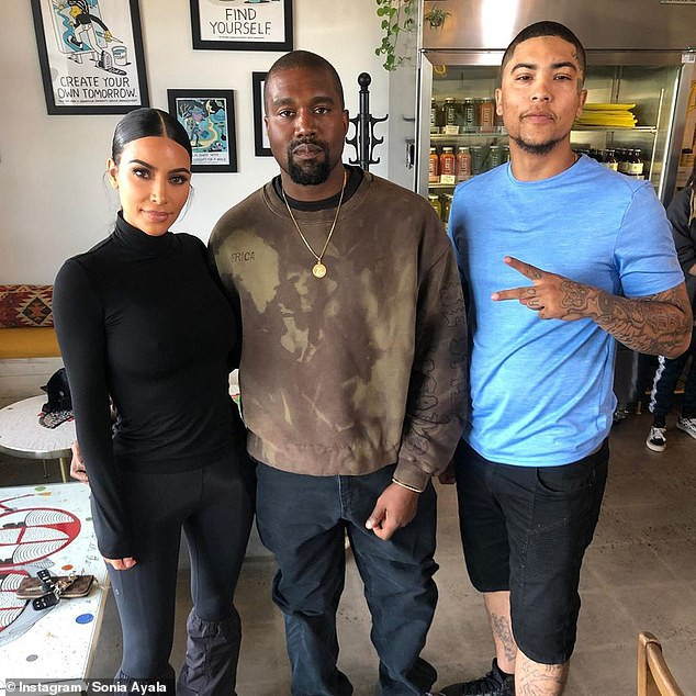 Kim Kardashian and Kanye West meet recently freed North Carolina man and promise to help remove his face tattoo?(Photos)