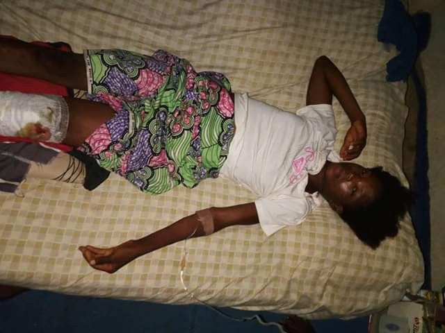 Photo: Woman arrested in Abuja after her 16-year-old housemaid was found injured, starved and locked in a room