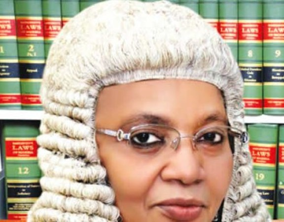 PDP wants the Appeal Court president to quit presidential poll tribunal,?says she?s the wife of an APC senator-elect