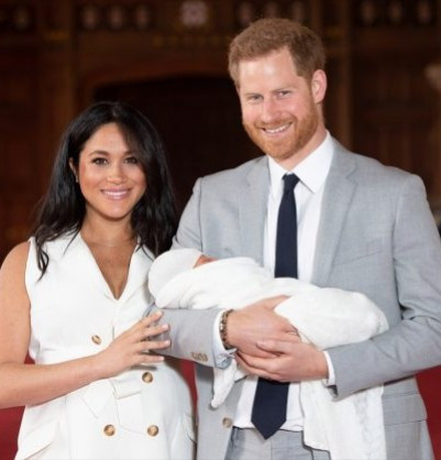 Meghan Markle and Prince Harry share adorable new photo of their son to mark Meghan