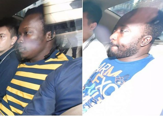 Two Nigerians charged with