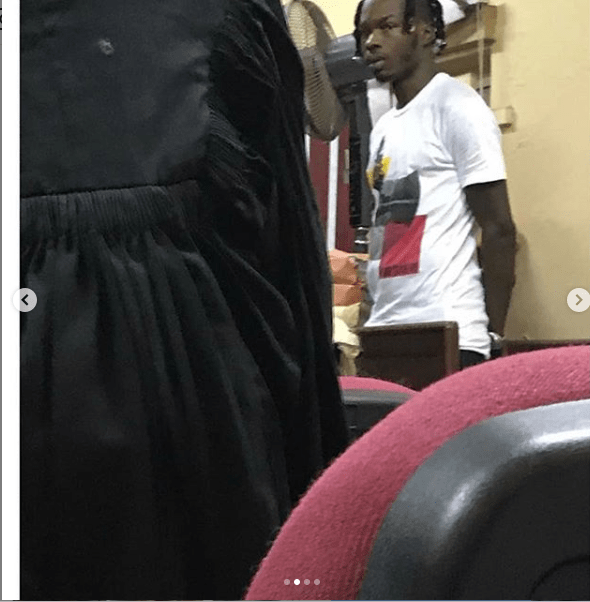 Embattled rapper, Naira Marley appears in court to face 11 count charges of fraud (Photos)