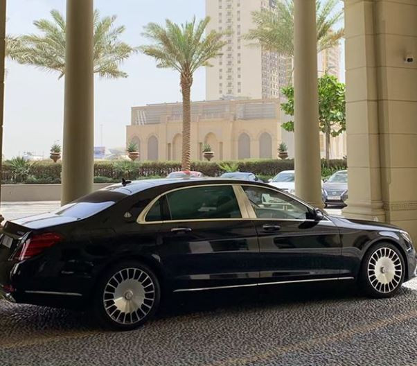 Photo: Hushpuppi?shows off his newly acquired S650 Maybach