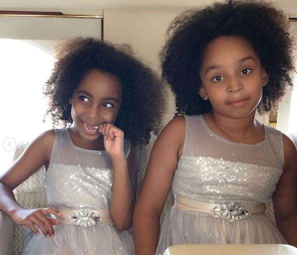 Ned Nwoko and his daughters