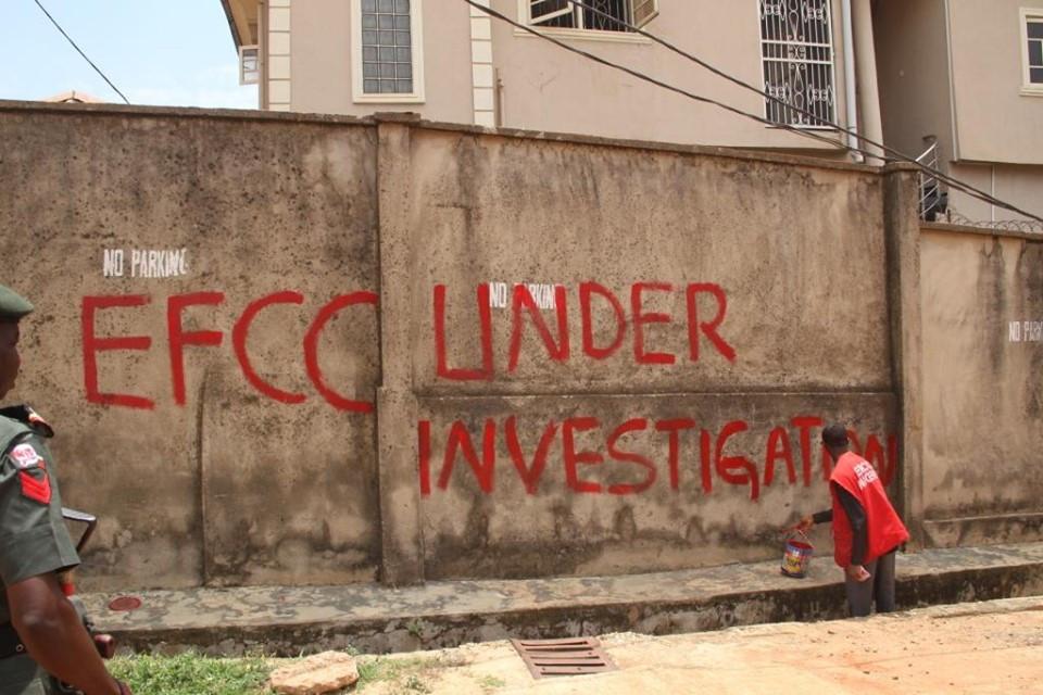 Photos: EFCC arrests proprietor and students of