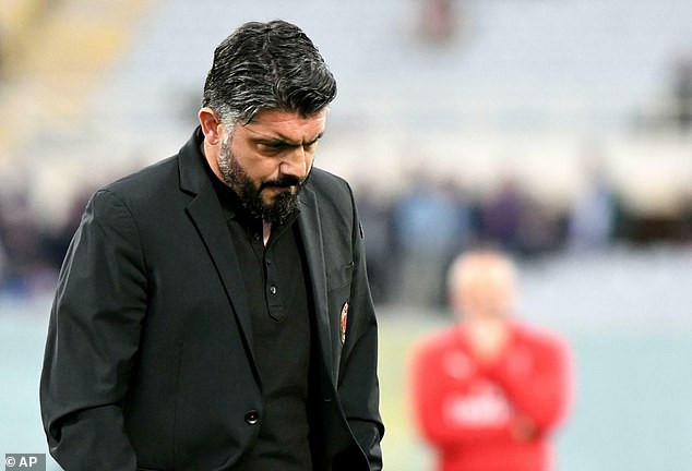 Italian legend, Gennaro Gattuso quits as coach of AC Milan after failing to secure Champions League spot?