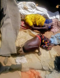 """I laid flat on the ground as they opened fire"" - Survivor narrates how she pretended to be dead as gunmen kill six members of her family in Plateau State"