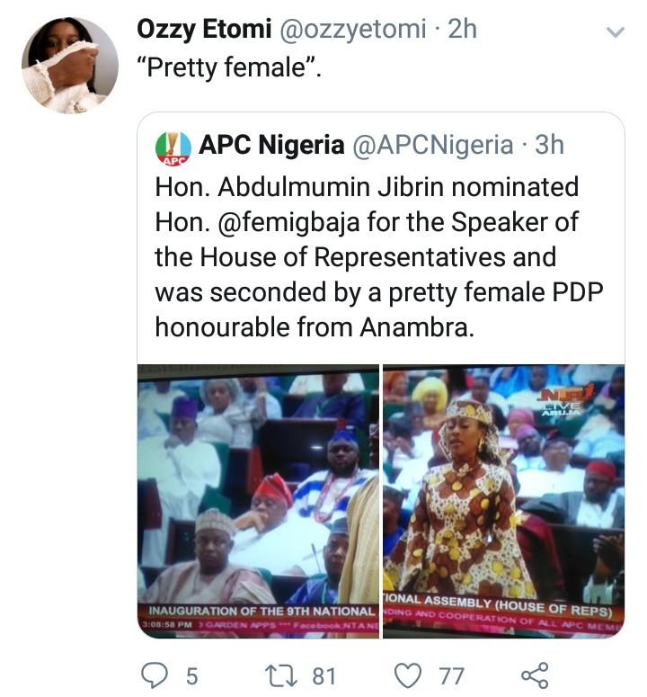 Outrage as APC refers to Linda Ikpeazu as