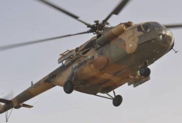 Nigerian Airforce helicopter crash-lands at Yar?adua International Airport In Katsina State