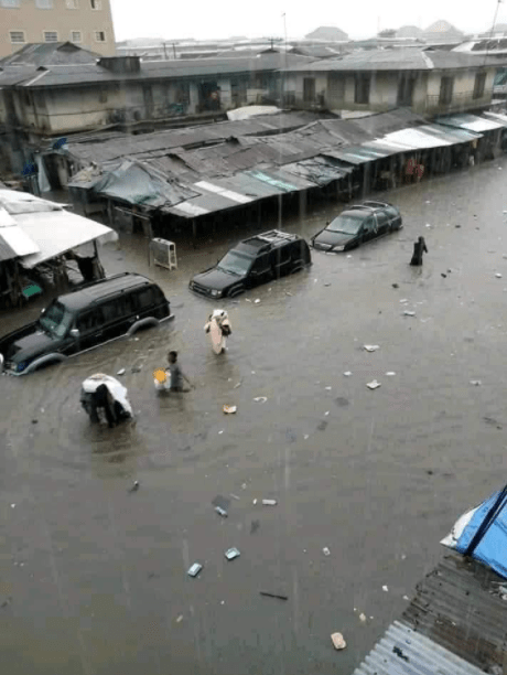 Viral photos show pathetic state of Abia roads after a heavy downpour