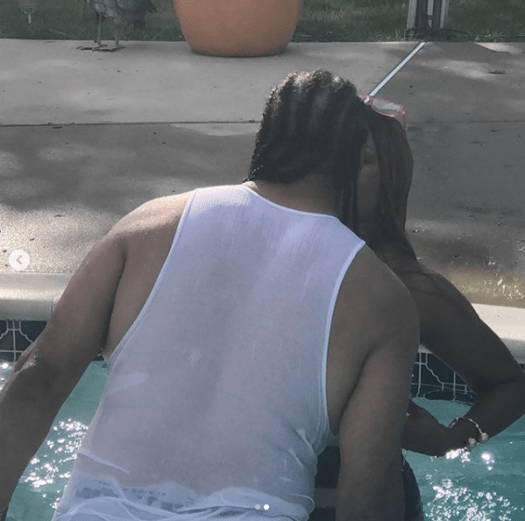 Regina Asika flaunts her banging body as she locks lips with her husband Rudolph