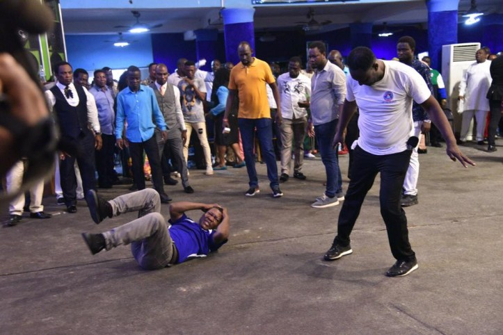 Snake man exposed as he came to attack Prophet Jeremiah Omoto Fufeyin