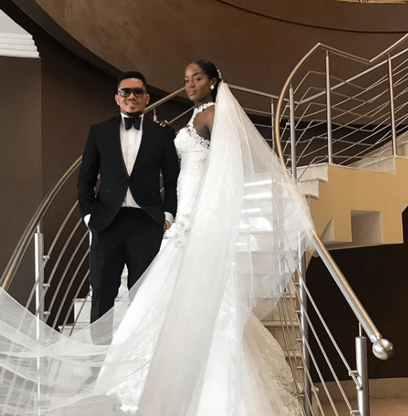 Smash of Bracket marries his Ivorian fiancee in Lagos (Photos/video)