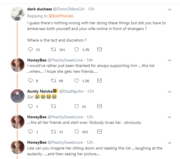 Man lists all his fianc?e has done for him to appreciate her, but gets mocked by Twitter users