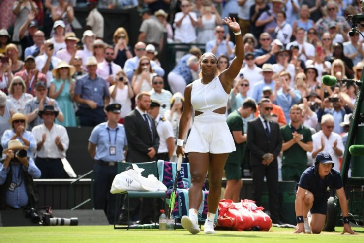 Serena Williams becomes the oldest woman to reach a Grand Slam final after victory over Barbora Strycova