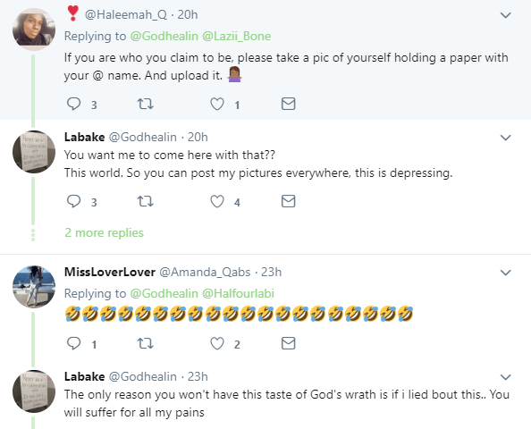 Nigerian lady allegedly raped by her father, gets shocking responses from Nigerians after coming out to seek financial assistance