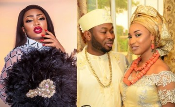 Tonto Dikeh?s ex-friend Blessing Osom thanks her ex-husband Churchill over N3m birthday gift