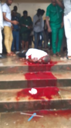 Final year student shot dead immediately after his final year examination in Cross Rivers (graphic photos)