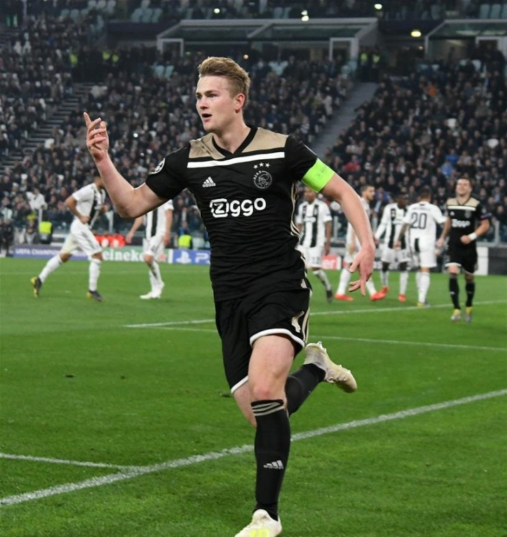 Ajax captain Matthijs de Ligt, 19, set to join Cristiano Ronaldo at Juventus in a deal worth ?67.5m