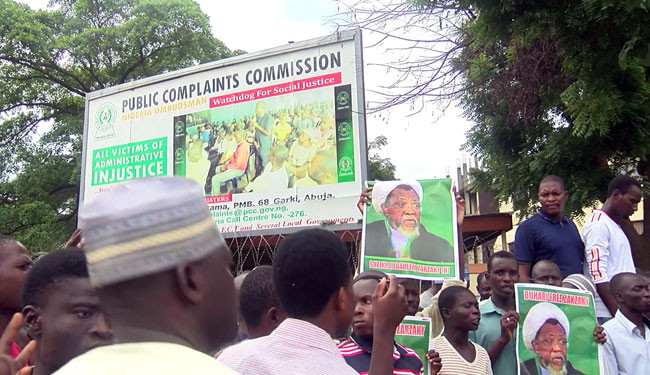 Shiites protest again on streets of Abuja after clash with police