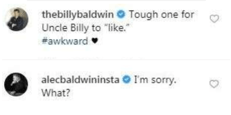 US model Ireland Baldwin?draws hilarious reactions from her dad and uncle after sharing this revealing butt photo