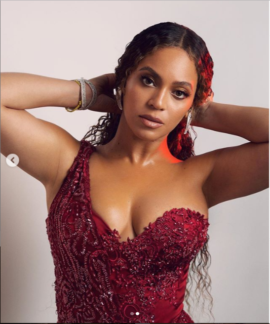 Beyonce shares stunning new photos