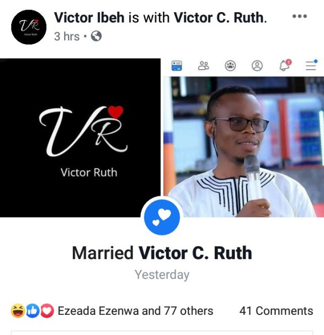 """Nigerian counsellor weds himself; invites friends to his """"Holy Sologamy"""" in Abuja"""