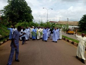 Enugu Catholic Priests stage protest over the gruesome murder of Late Rev. Fr. Paul Offu