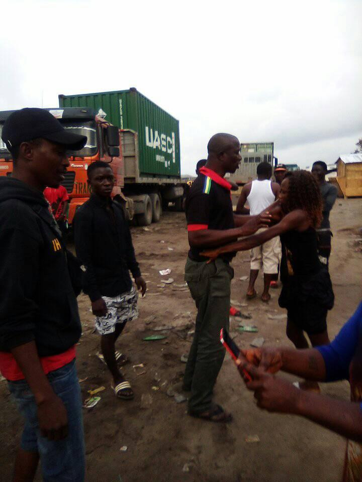 Lagos policeman disgraced by prostitute he slept with and refused to pay