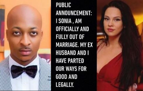 Breaking: IK Ogbonna and I have parted ways for good legally?- Sonia Morales announces