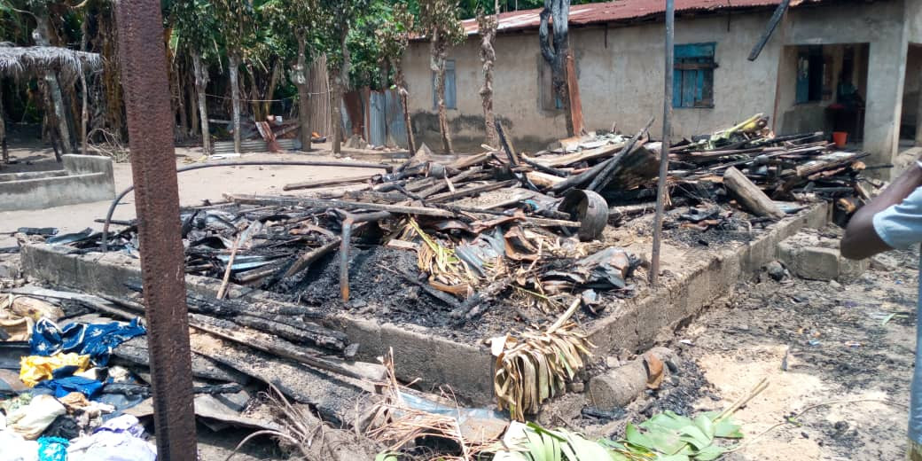 Photo: Five children from same family burnt beyond recognition in Lagos