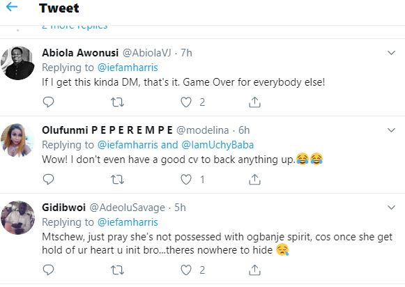 """Twitter goes wild after Nigerian lady shoots her shot at her crush by sending him an email with her CV showing her """"relationship"""" qualification"""