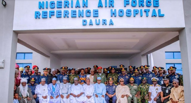 President Buhari commissions Air Force Hospital in Daura (photos)