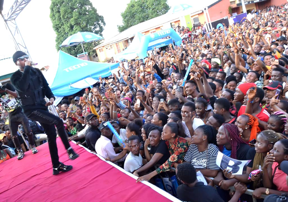 The TECNO Victor Ad ?Thank You Concert? that Rocked Auchi Poly
