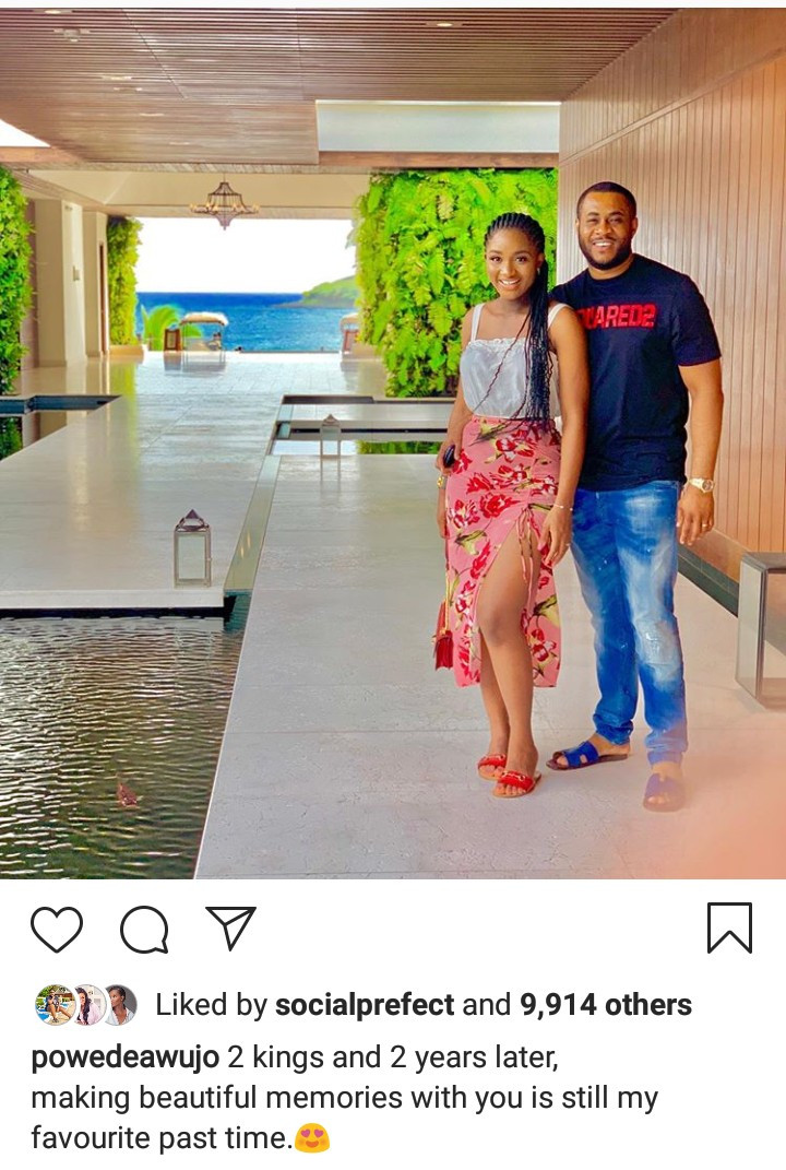 Powede Awujo shows off her post-baby body less than two weeks after welcoming second child
