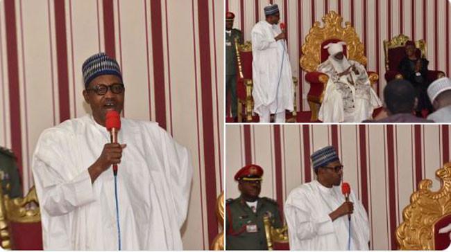 I gave Kaduna and Kano two ministerial slots because of the votes they gave me ? Buhari lindaikejisblog