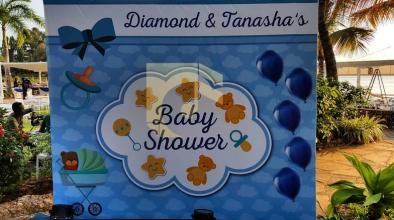 Diamond Platnumz and Tanasha Donna hold their baby shower (Photos/Videos)