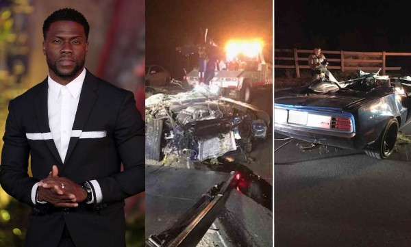 Kevin Hart suffers serious injuries in car accident