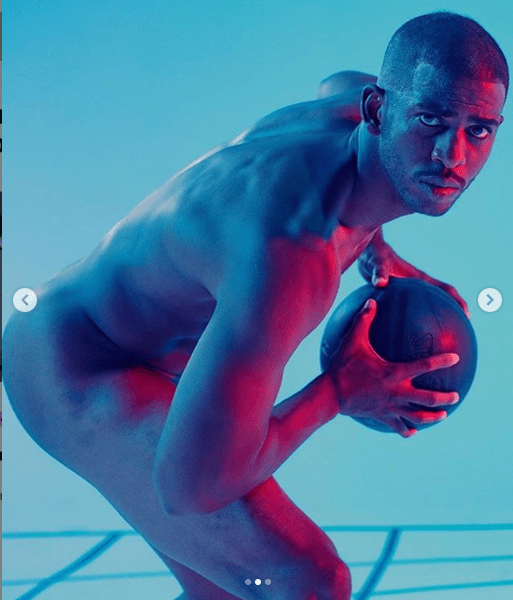 ESPN Cover-NBA Star Chris Paul Bares It All On His Body Transformation Body Issue