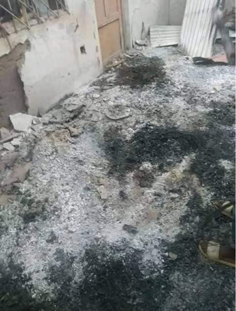 Photos: Youths protest against bandits, burn SSG?s house, APC offices in Katsina