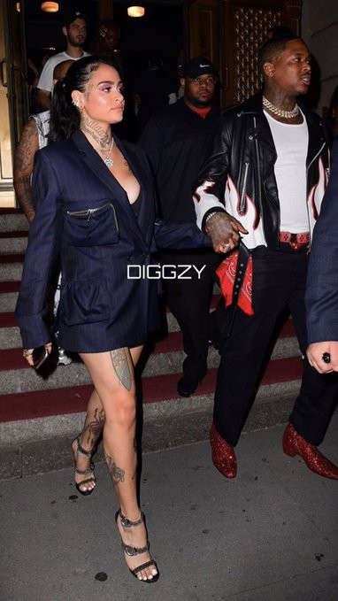 YG and Kehlani finally go public with their relationship, months after welcoming babies with other people (video)