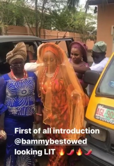 BBNaija Update: Photos From BamBam And Teddy A's Traditional Marriage