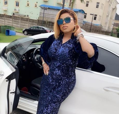 Bobrisky shows off his N30million Range Rover?