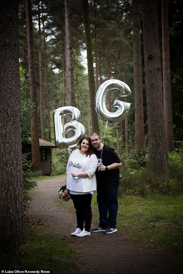 Couple get married in t-shirts, jeans and trainers to prove you don