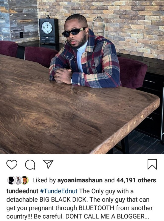 Woman accuses Tunde Ednut of raping and impregnating her; Tunde responds