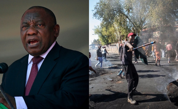 President Cyril Ramaphosa dispatches special envoys to African countries after being booed at Mugabe's burial lindaikejisblog